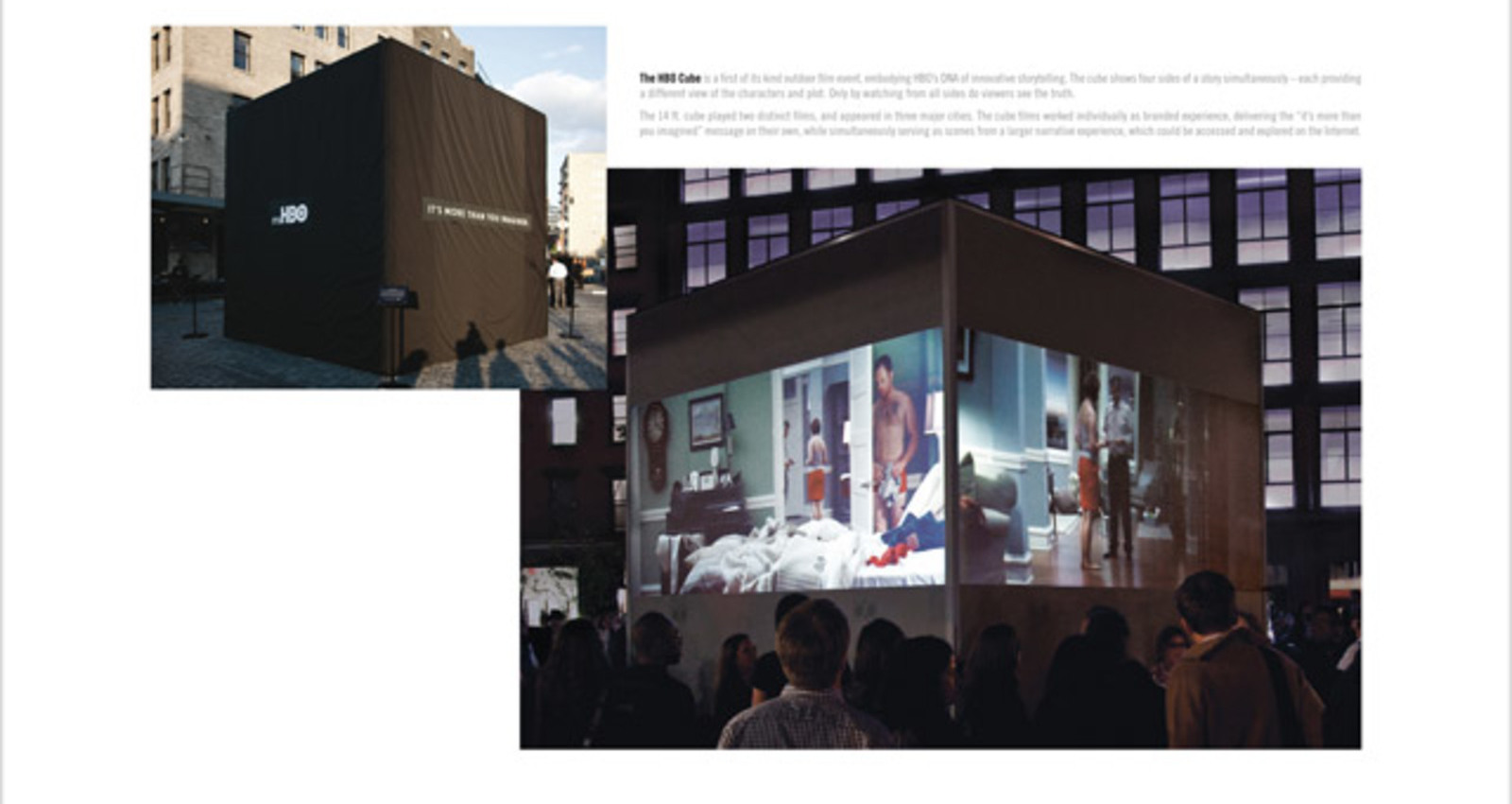 Cube Film Installation