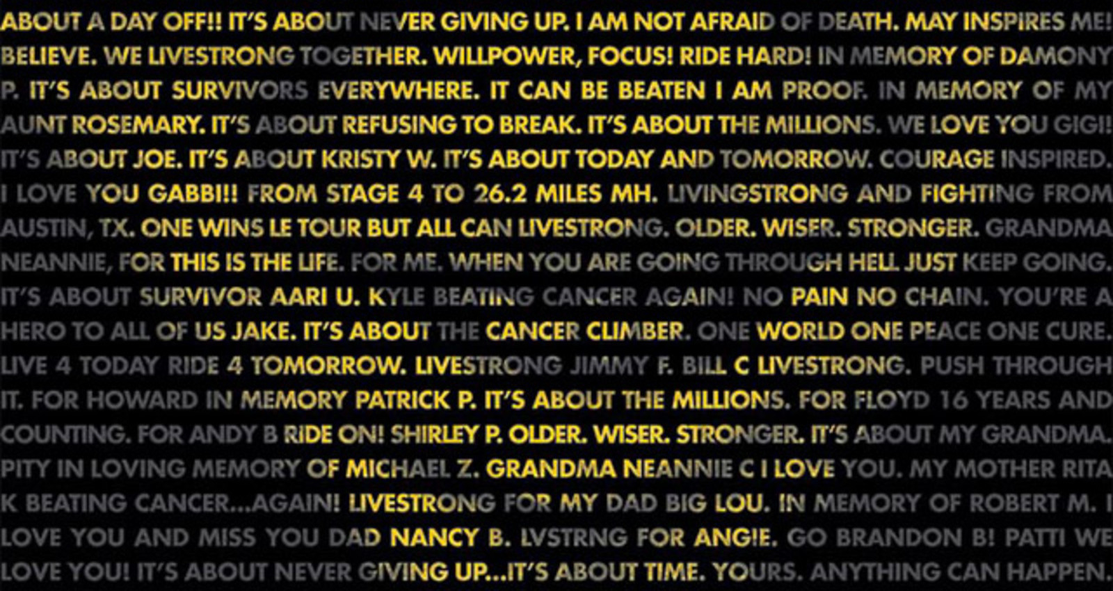 Nike Livestrong Integrated Campaign
