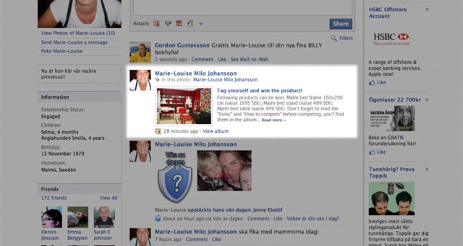 Facebook Showroom