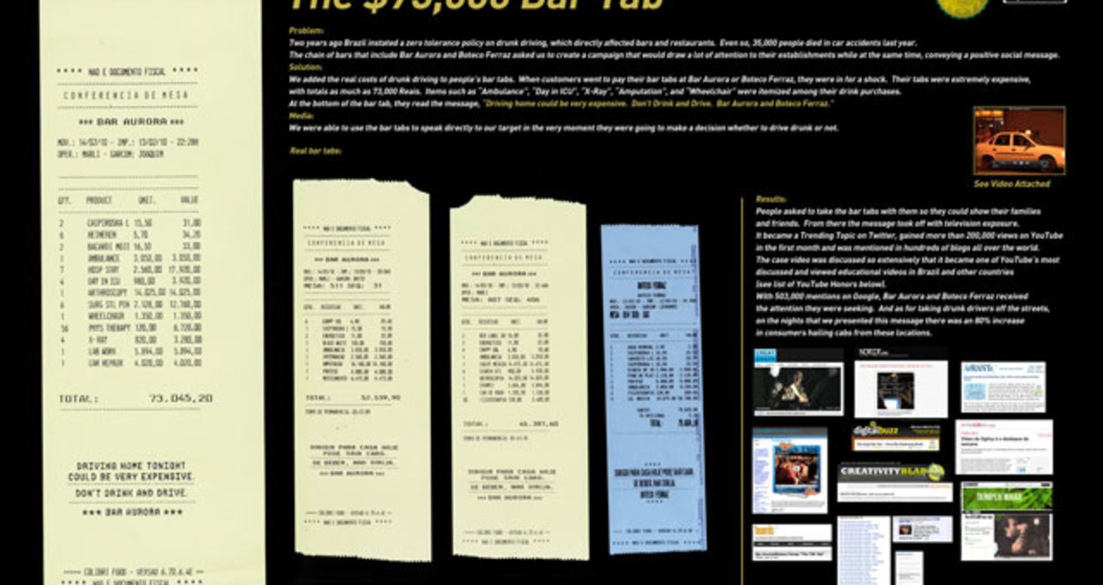 $ 73,000 BarTab