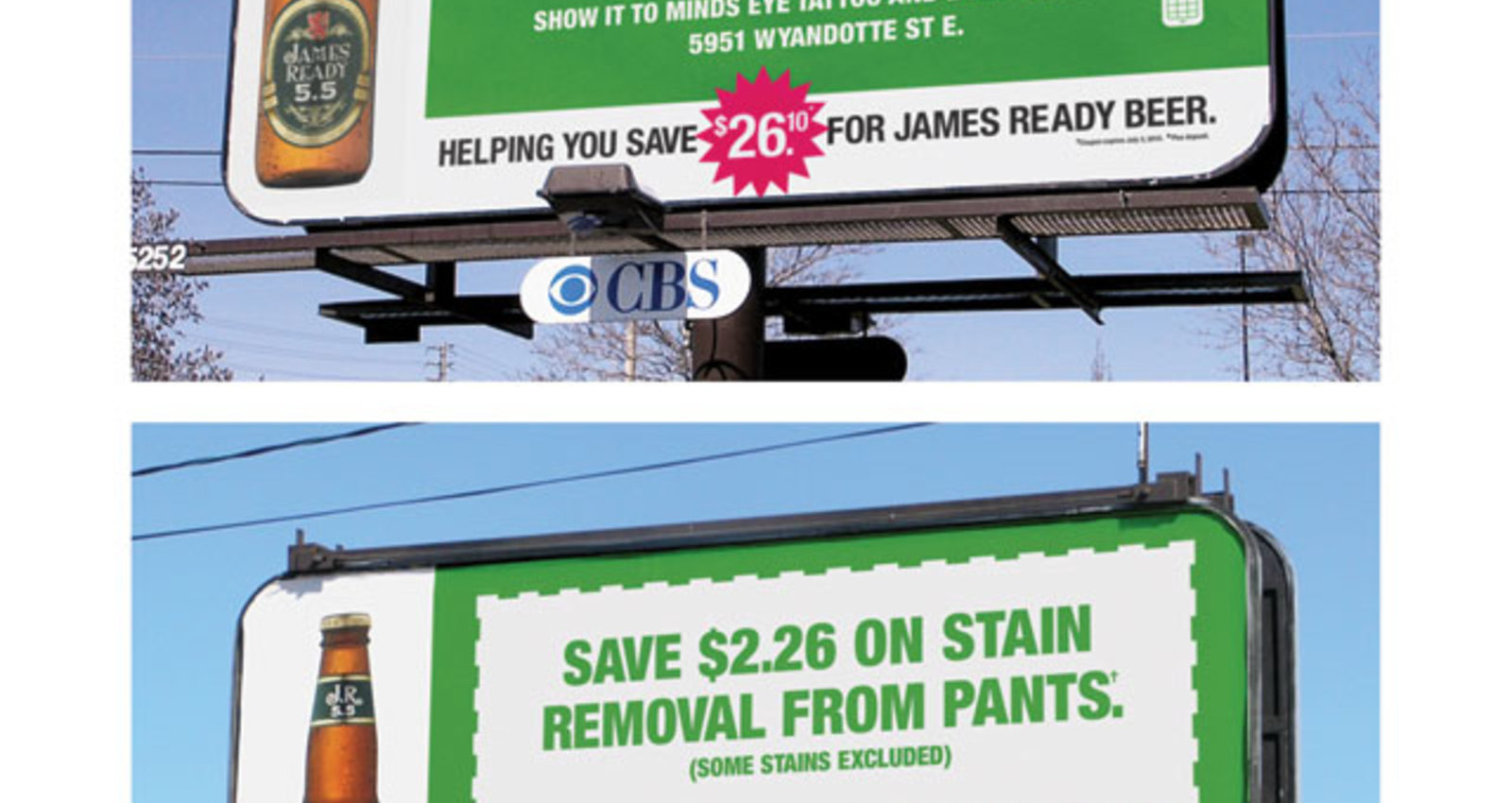 James Ready Coupon Billboard