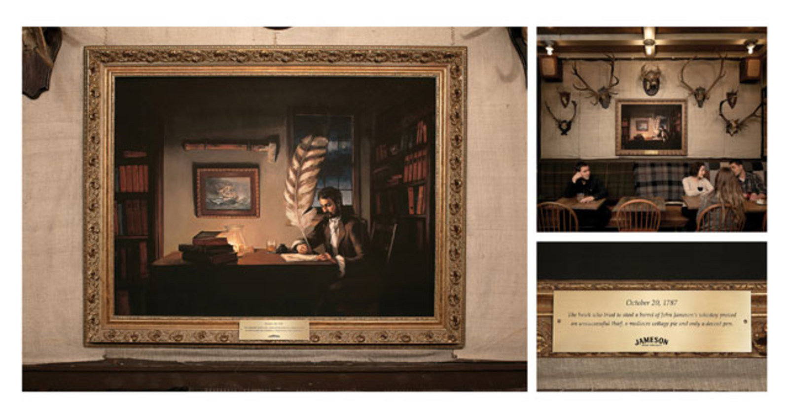 Pub Paintings: Quill
