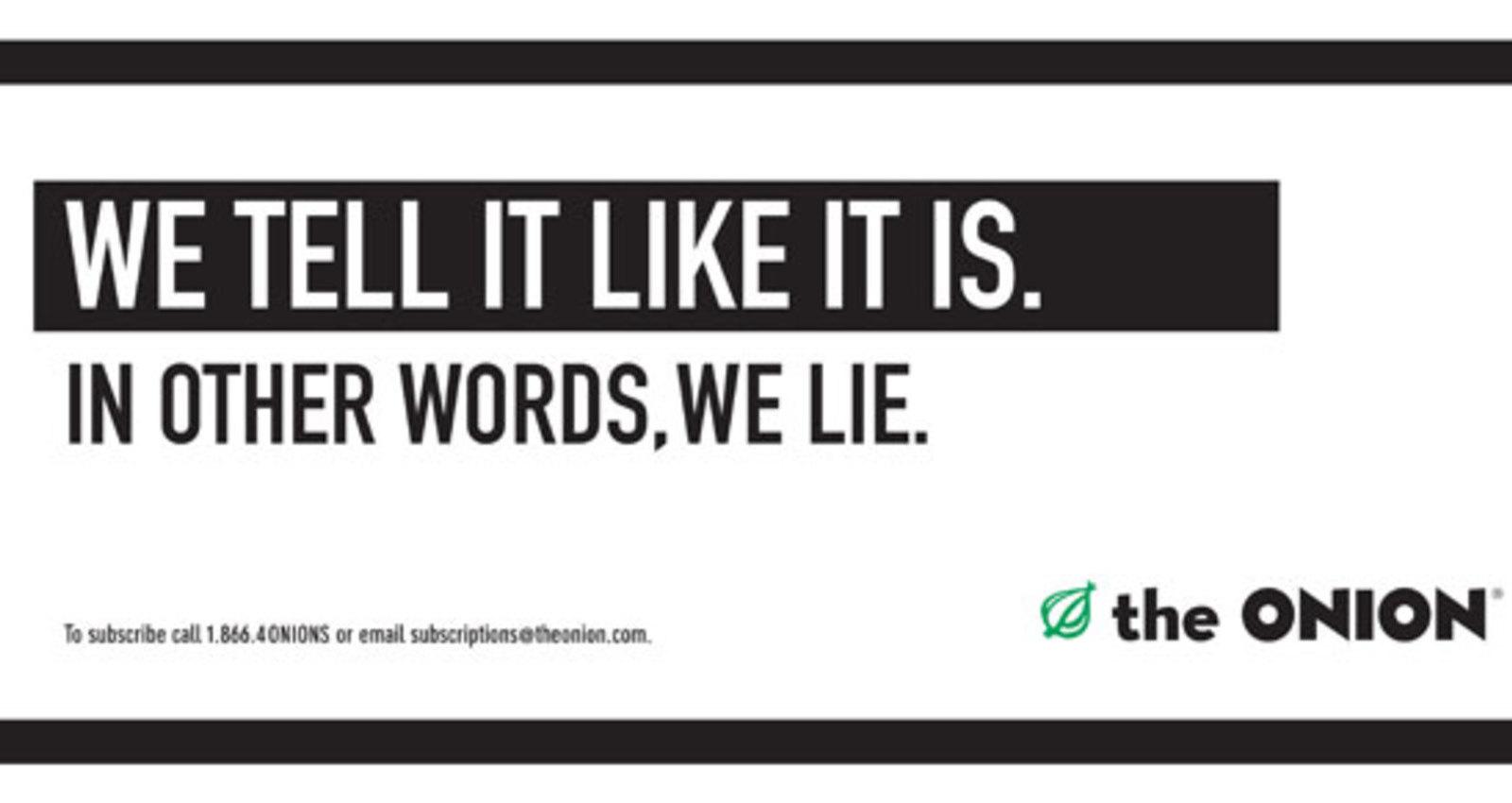 We Lie - Insert