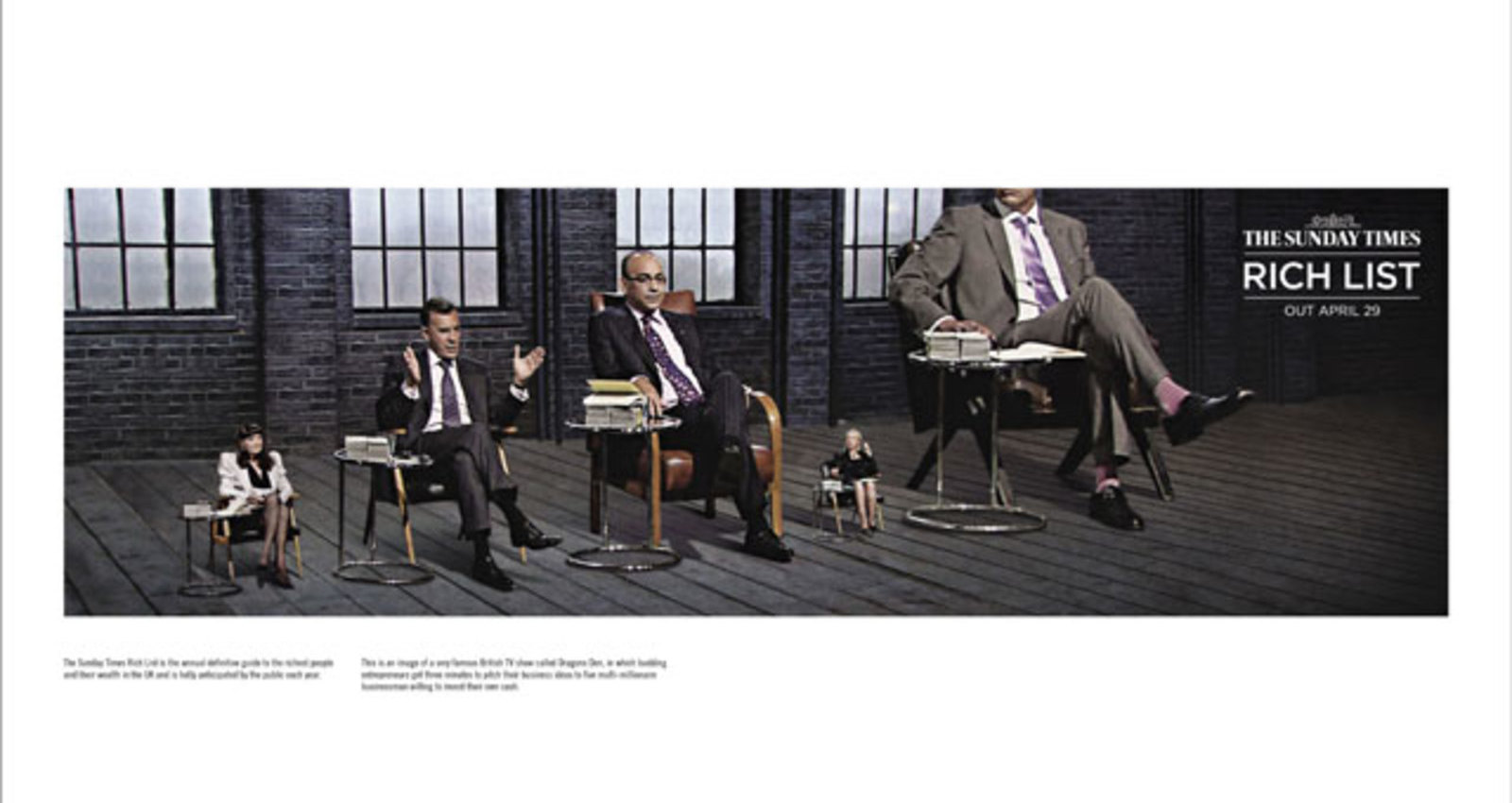 The Sunday Times Rich List-Dragons Den