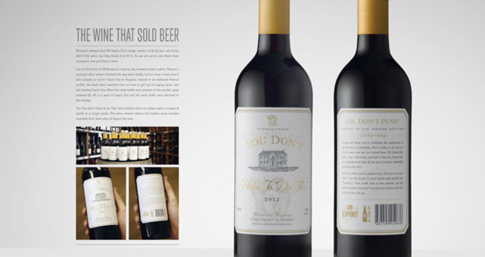 The Wine That Sold Beer