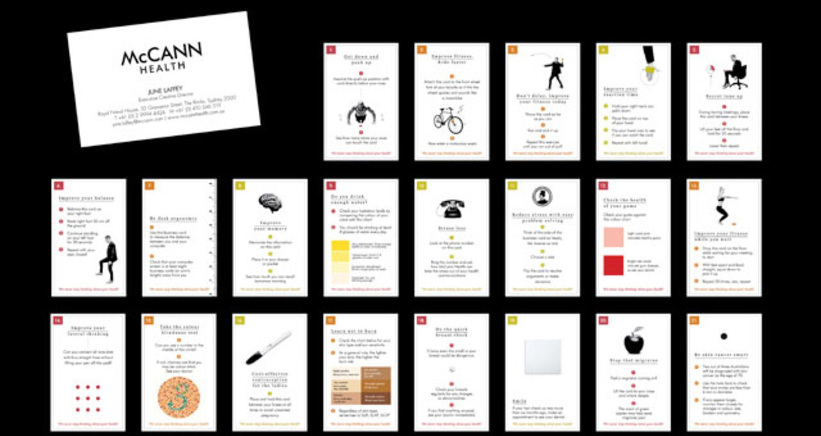 Healthy Business Cards