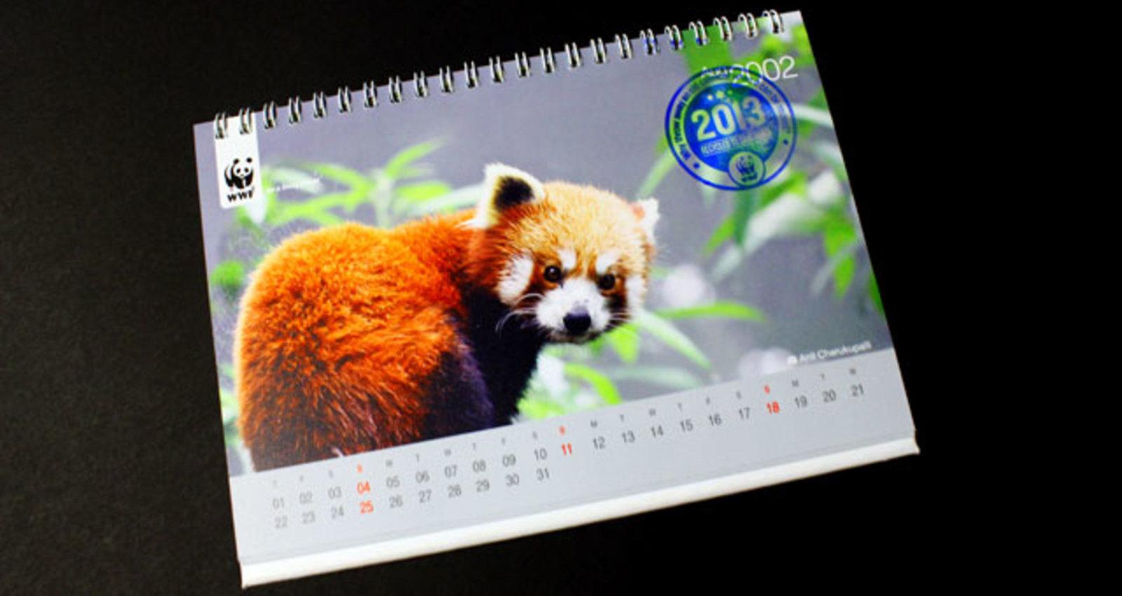 Recycled Calendar