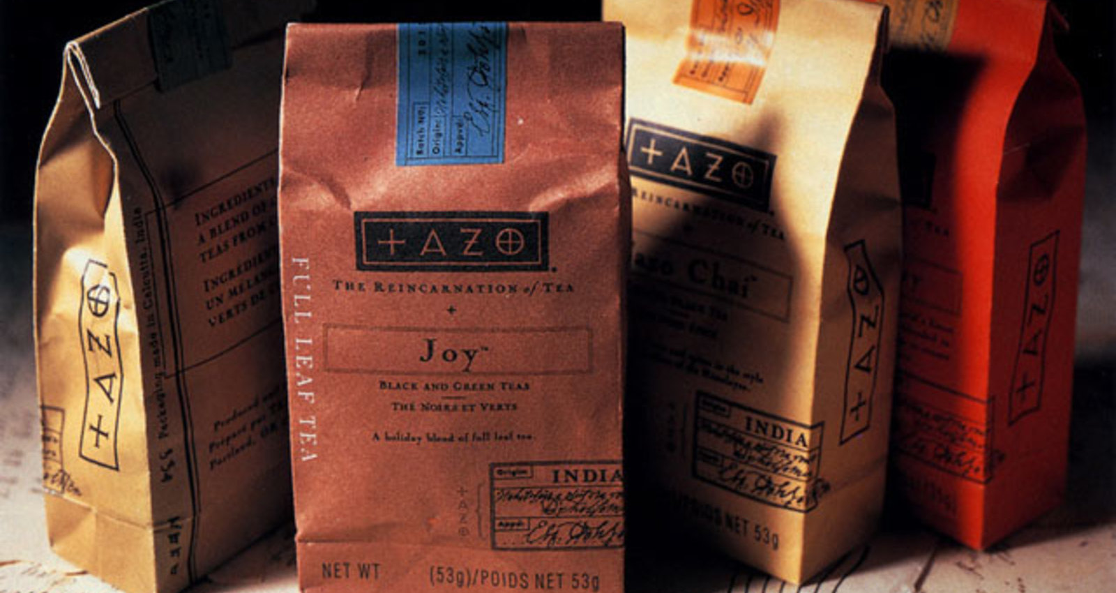 Tazo Full Leaf Tea 2 Ounces Bricks