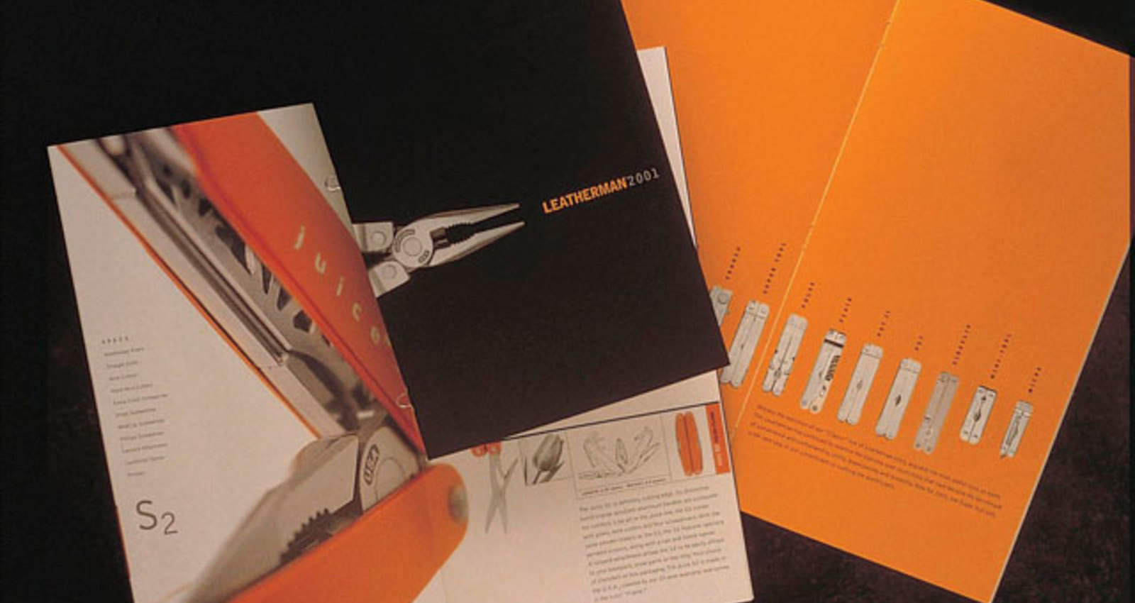 Leatherman Tools 2001 Product Catalog