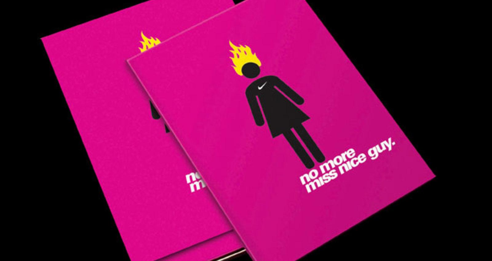 Nike Women's Apparel Book - No More Miss Nice Guy