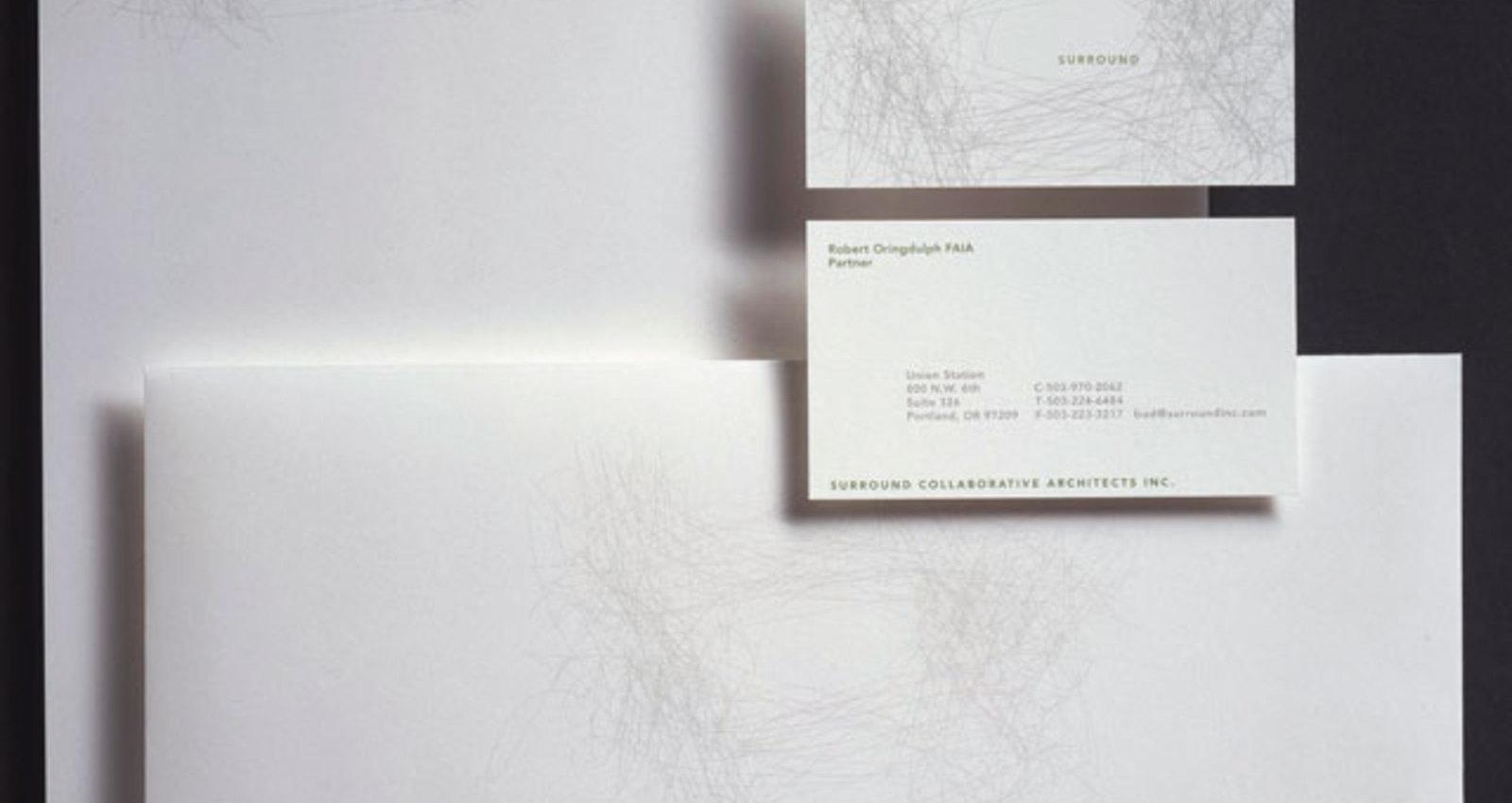Surround Collaborative Architects Corporate Identity