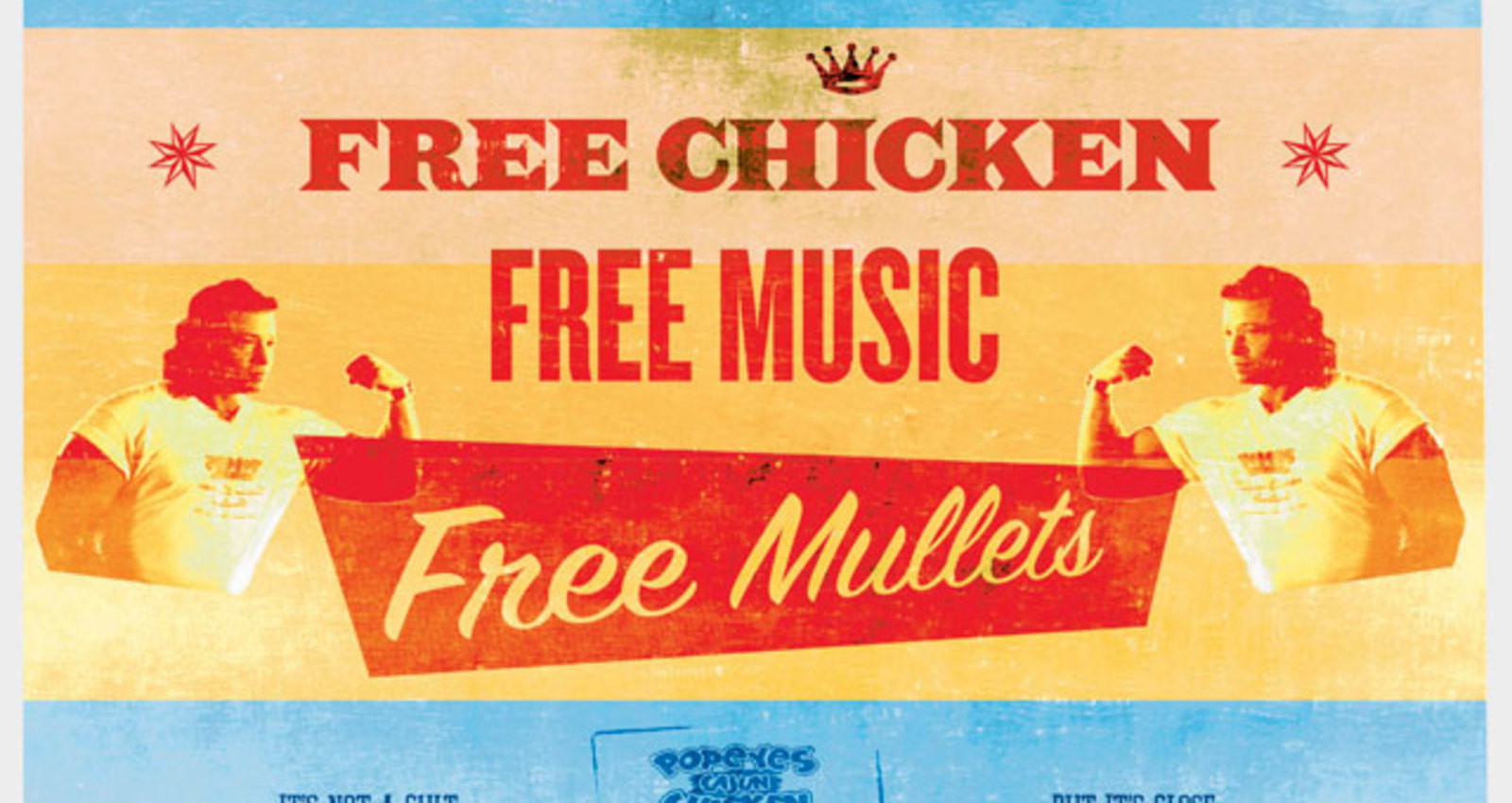 Free Mullets, Fried Food Diet, Mardi Gras, Thighs, Thousands