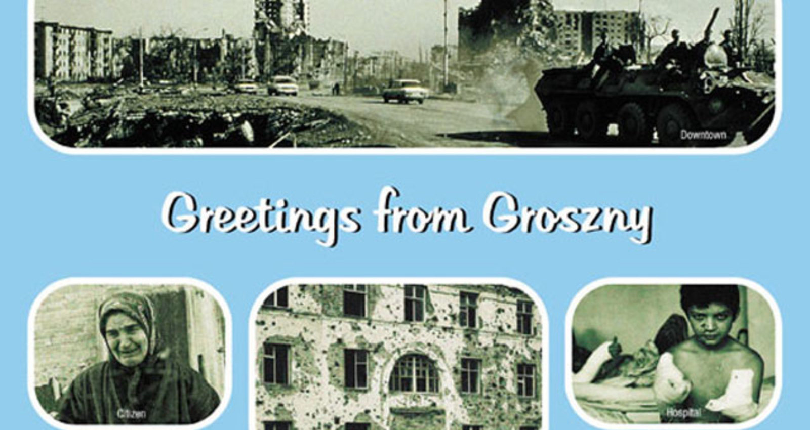 The greetings from hell postcards