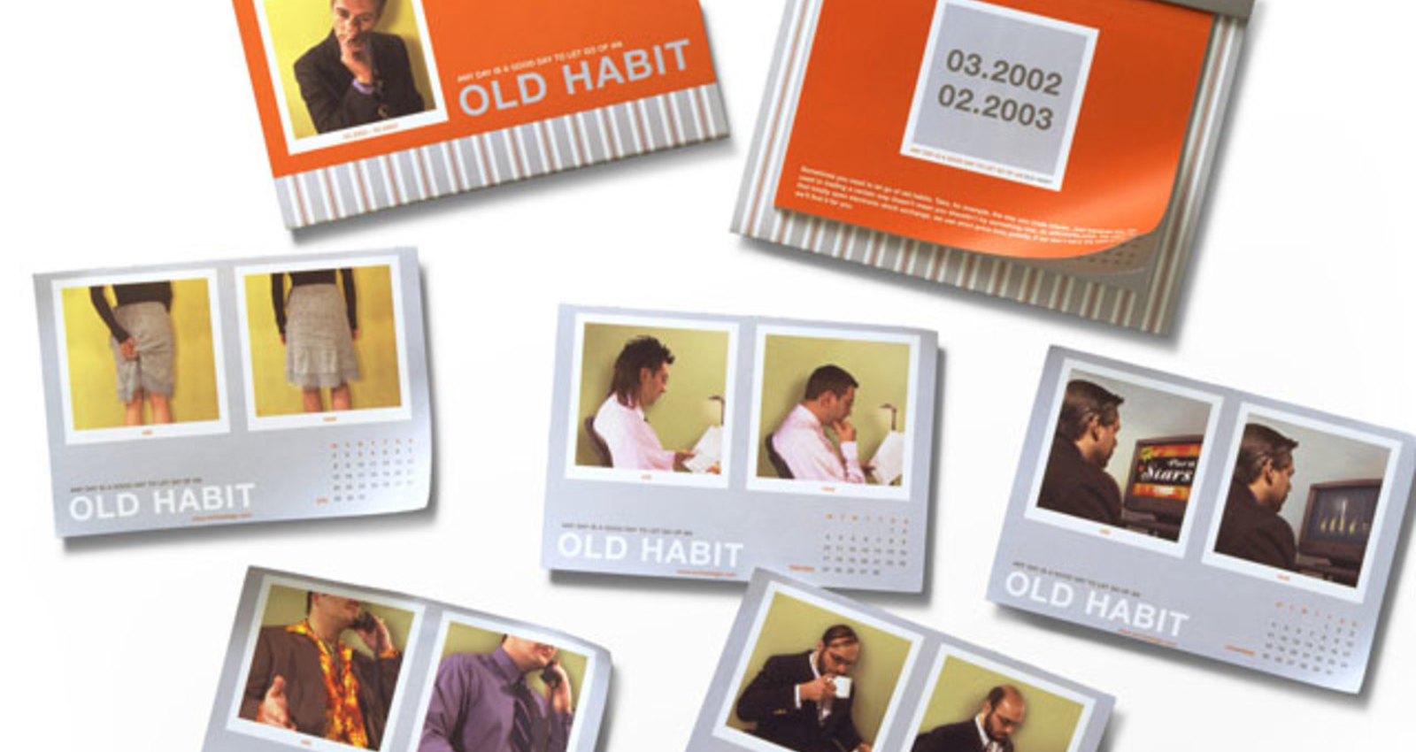 Old Habits Desk Calendar
