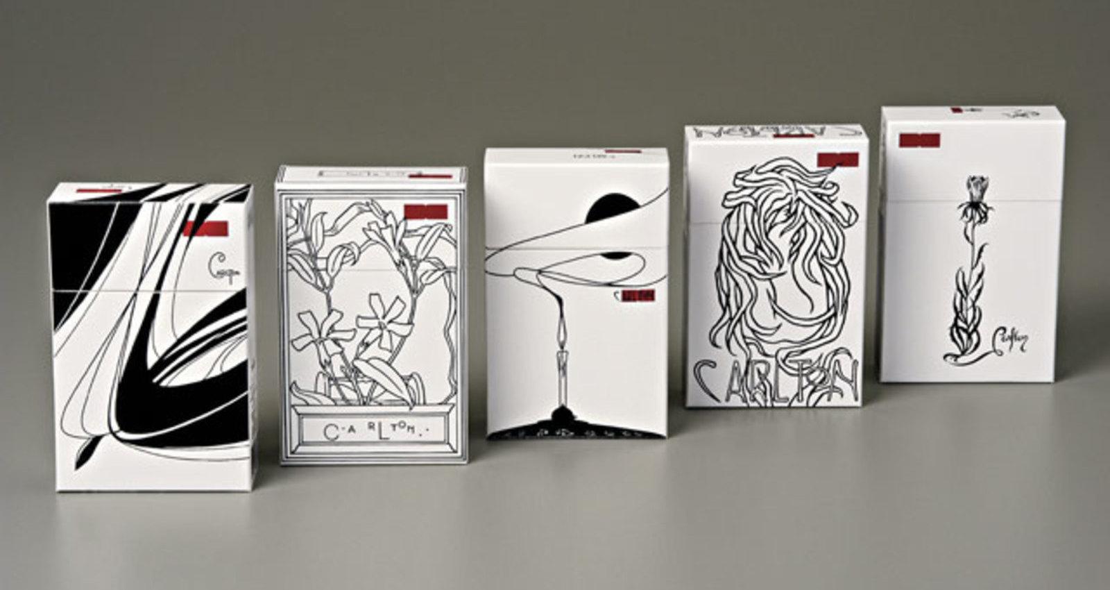 Carlton Packs - Limited Editions - Art Nouveau