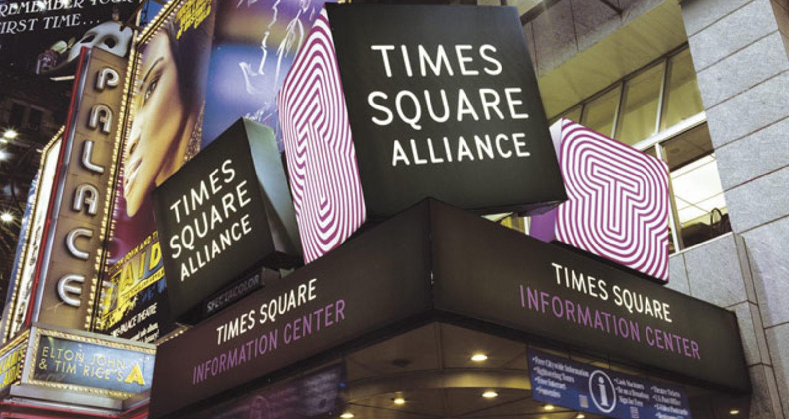 Times Square Alliance Identity