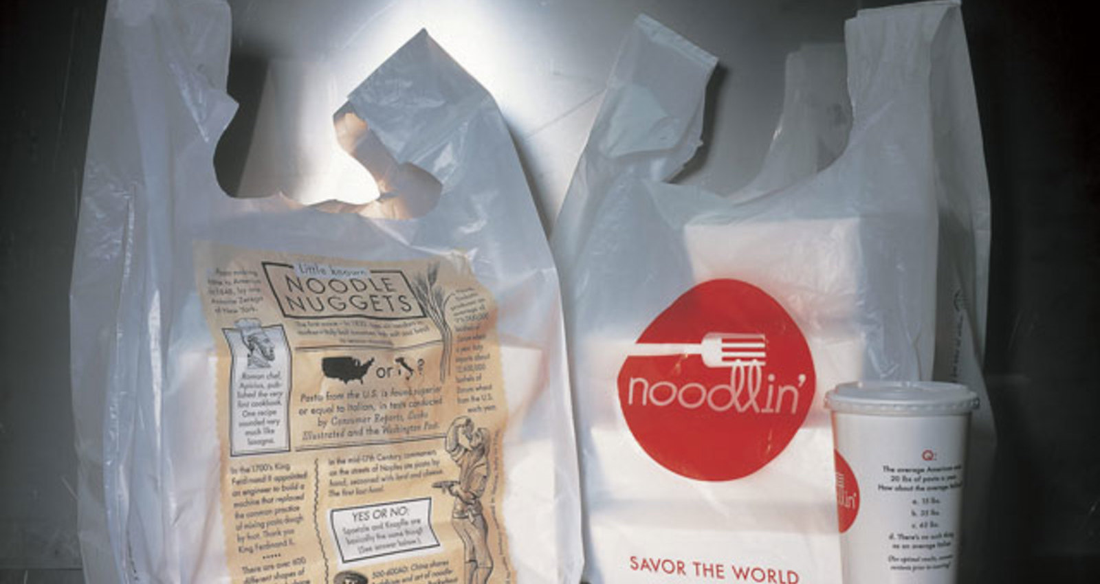 noodlin' Restaurant Corporate Identity