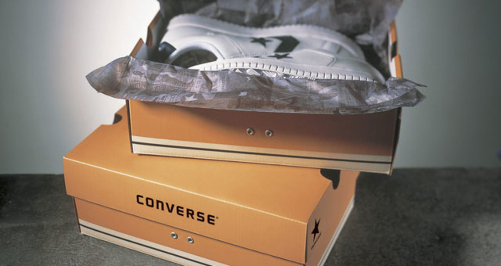 Converse Shoe Box - Black, Converse Shoe Box - Blue, Converse Shoe Box - Tan