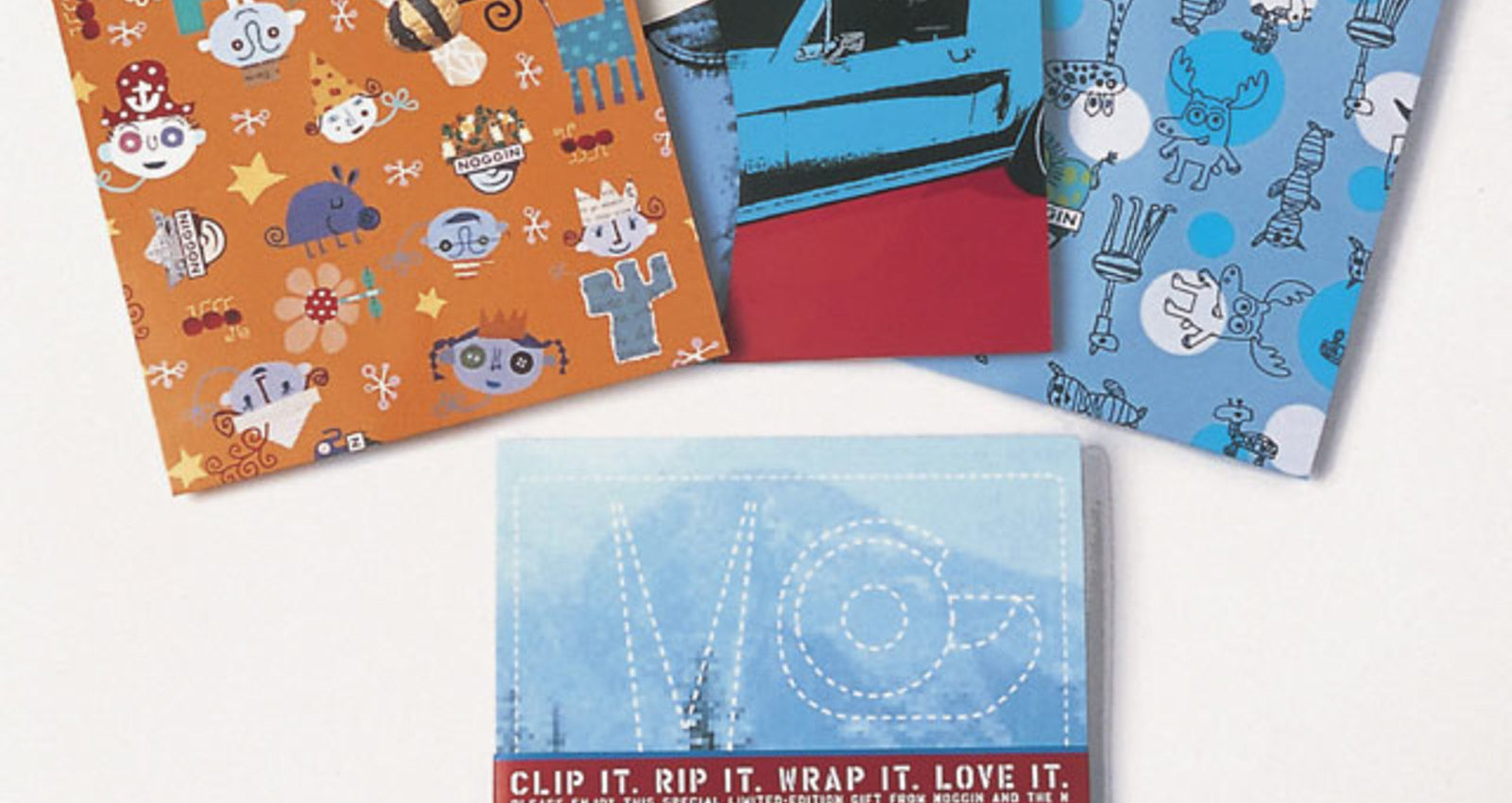 Noggin / The N Wrapping Paper