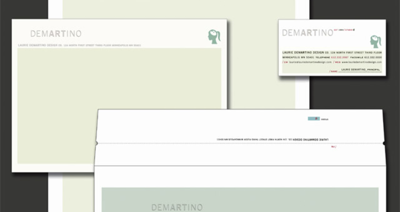 Laurie DeMartino Design Co-Identity System