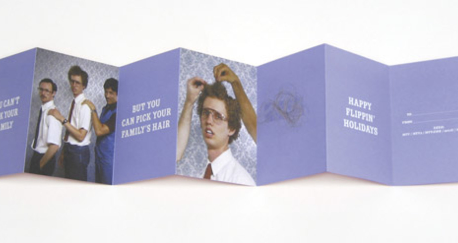 Napoleon Dynamite Holiday Card