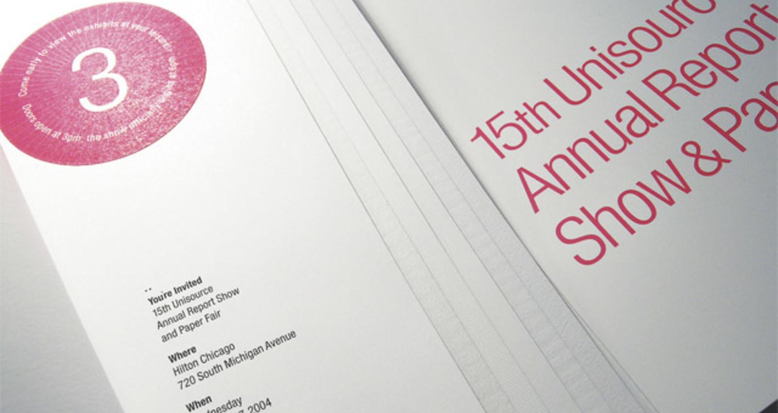 Unisource Show Invitation