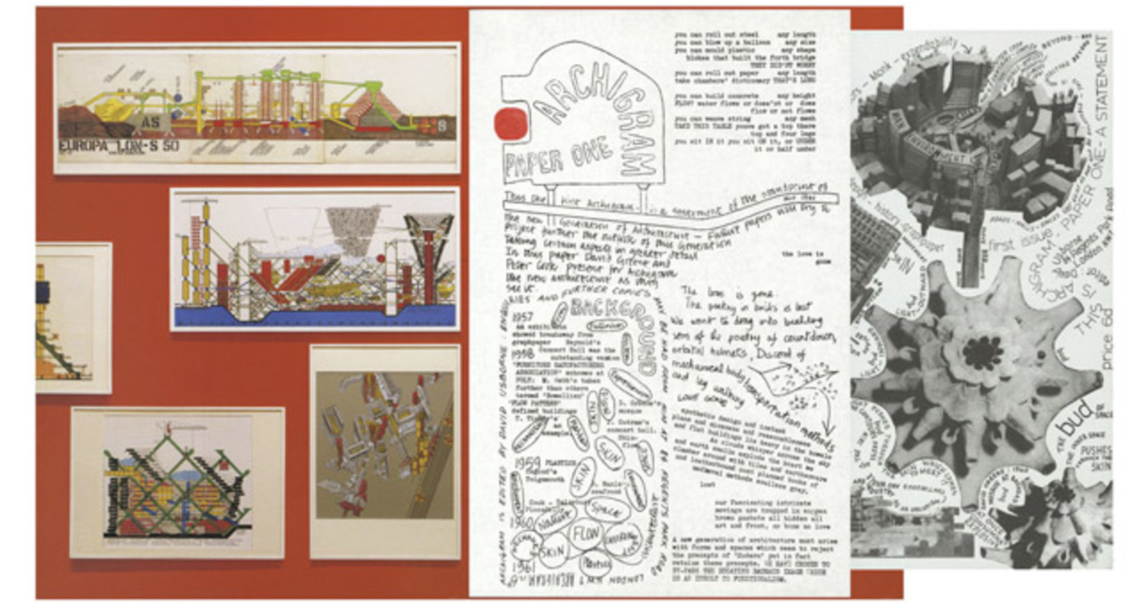 ARCHIGRAM: experimental architecture 1961-1974