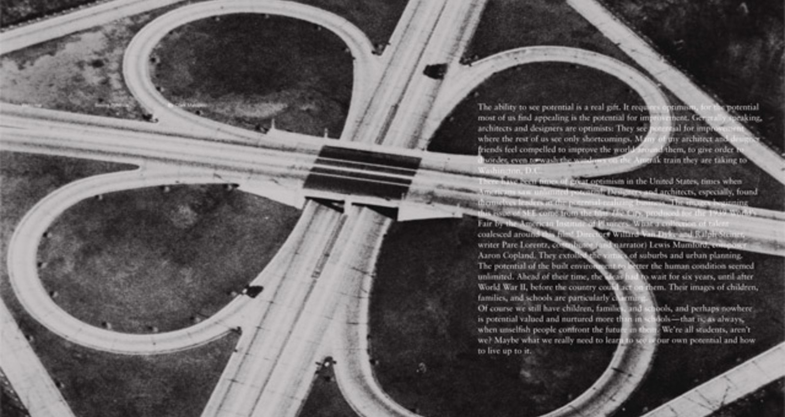 See: The Potential of Place, Second Issue
