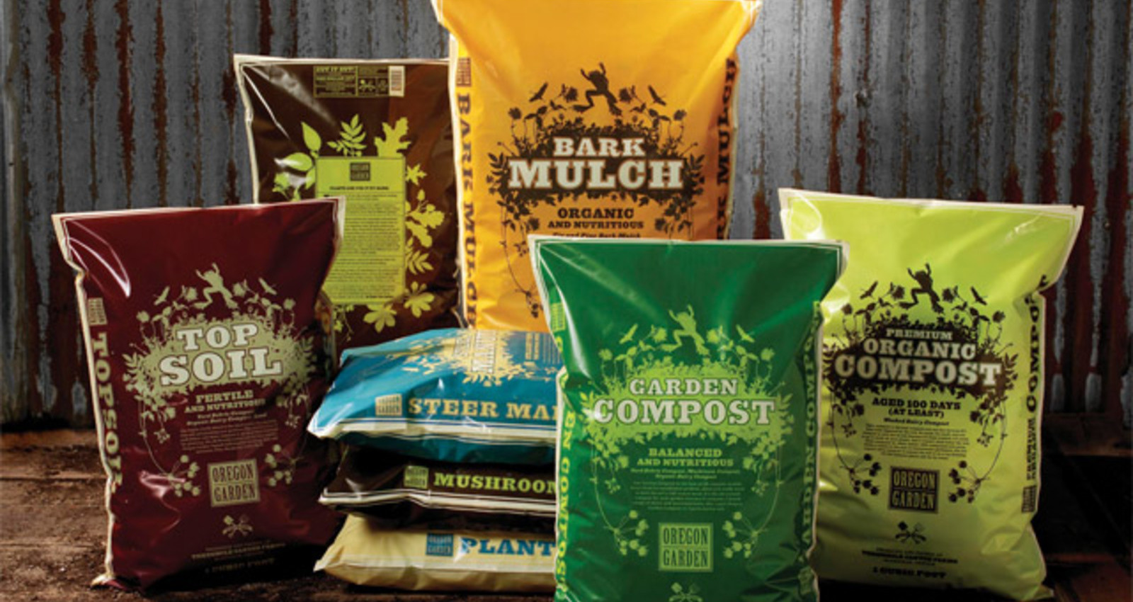 Oregon Garden Compost Packaging