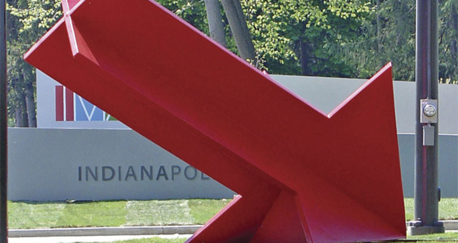 Big Red Arrow