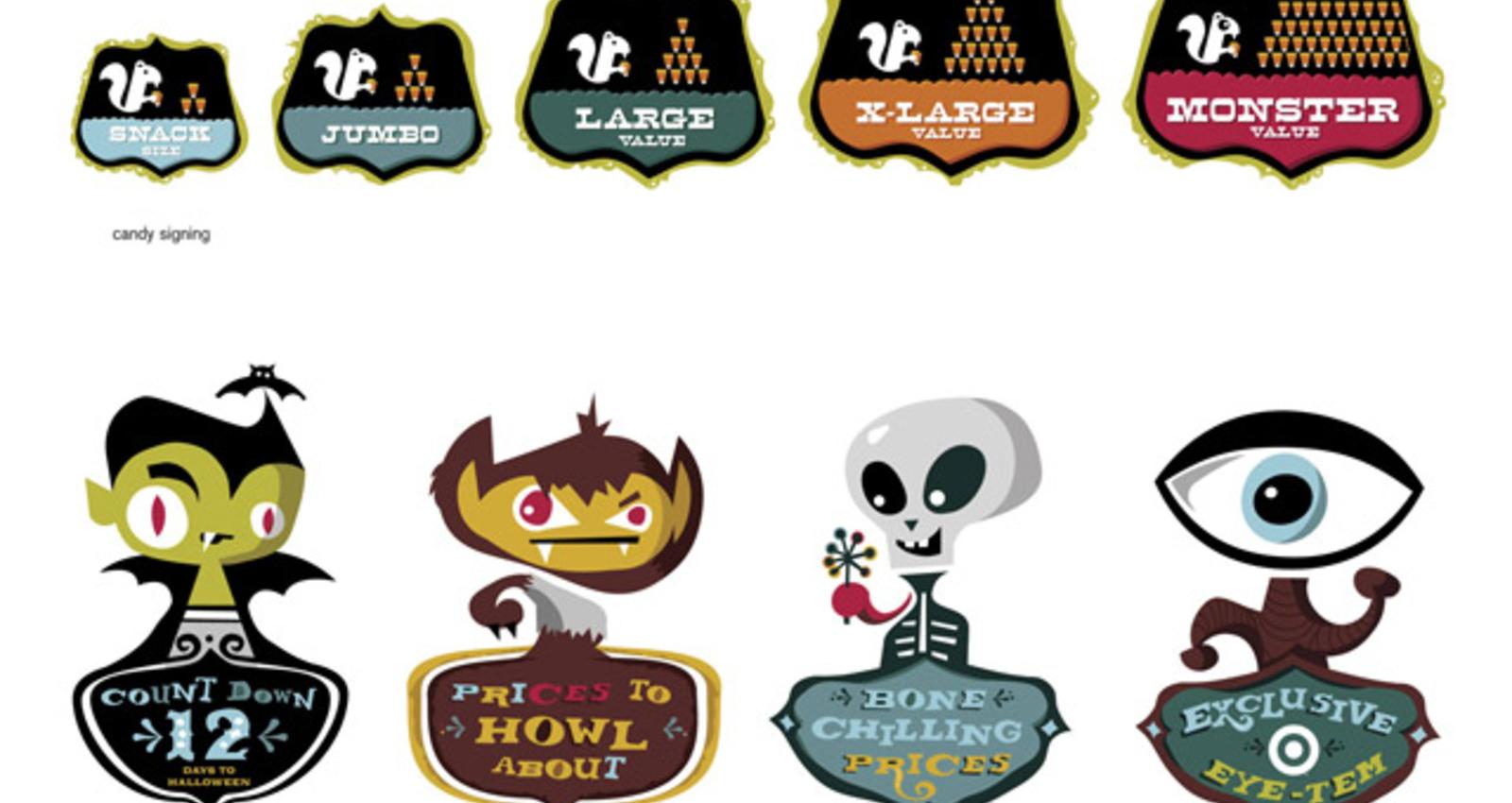 Target Halloween Campaign 2005