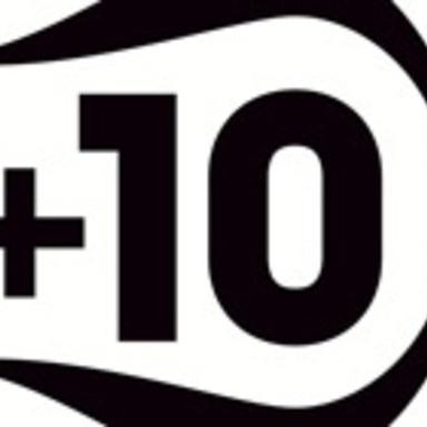 +10 Logo
