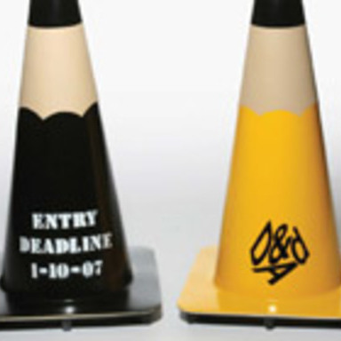 PENCIL TRAFFIC CONES