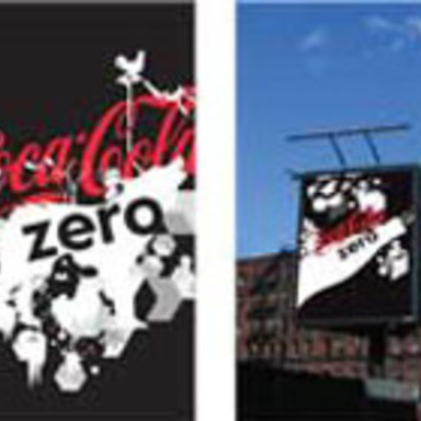 Coca-Cola Zero Brand Identity and Visual Language