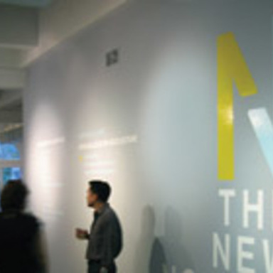 The New Nordic Exhibition Signage