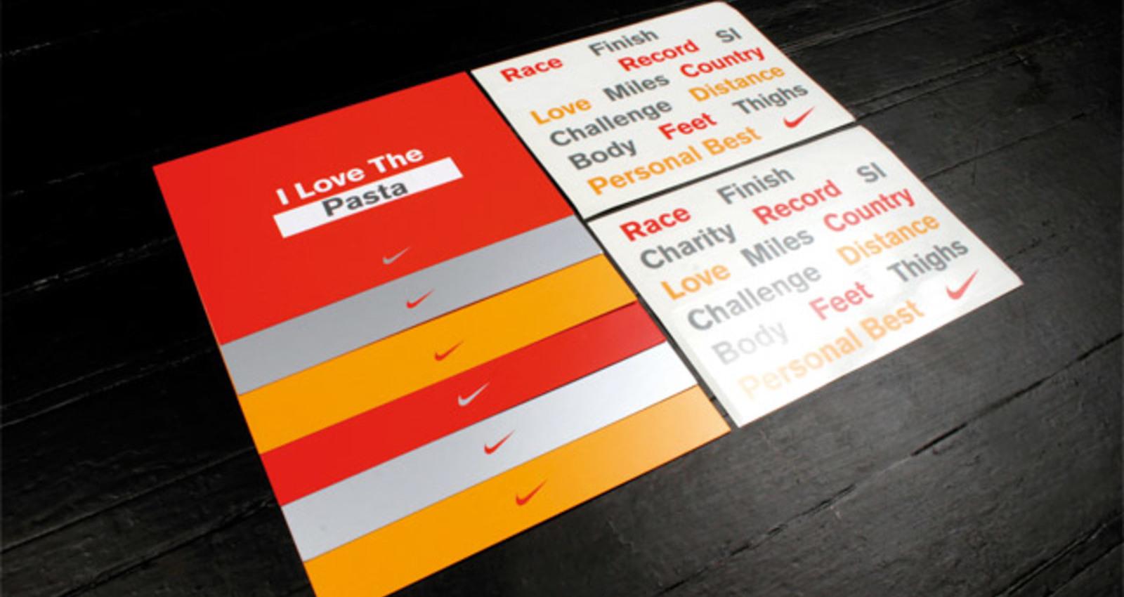 Nike Postcards