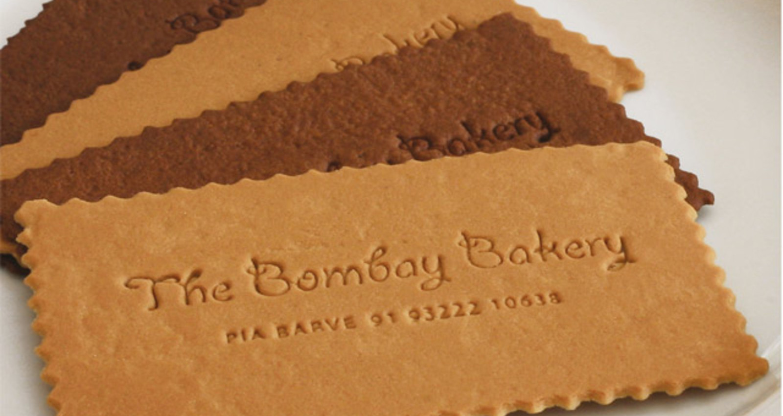 Edible Visiting Card