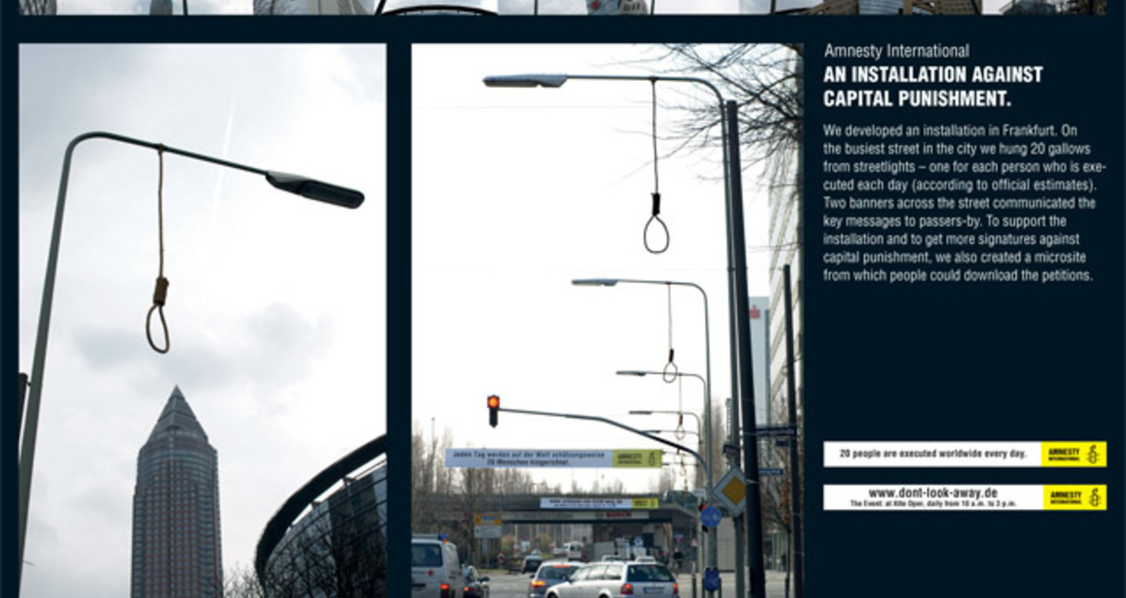 Amnesty International Gallows