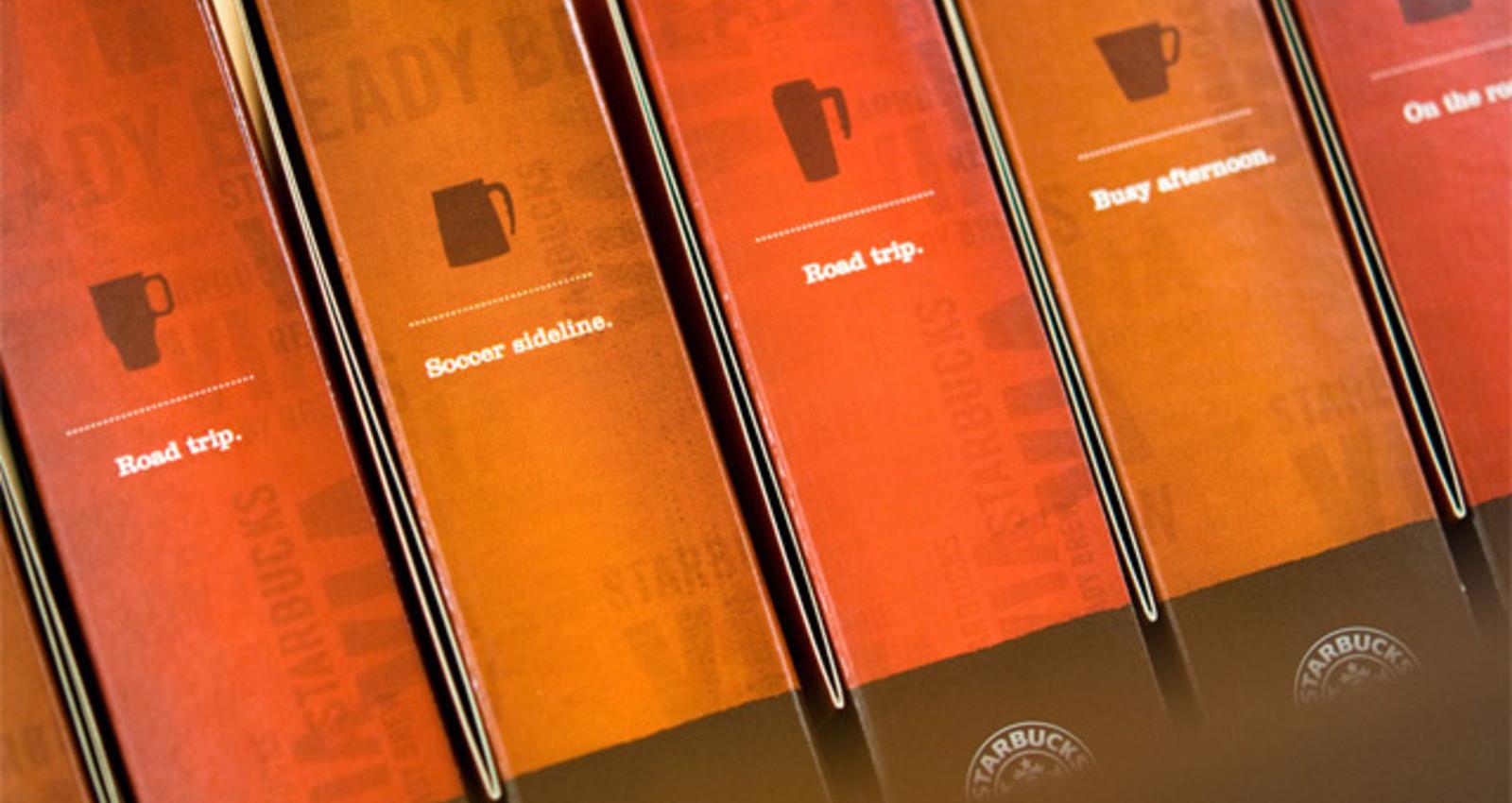 Starbucks VIA Packaging