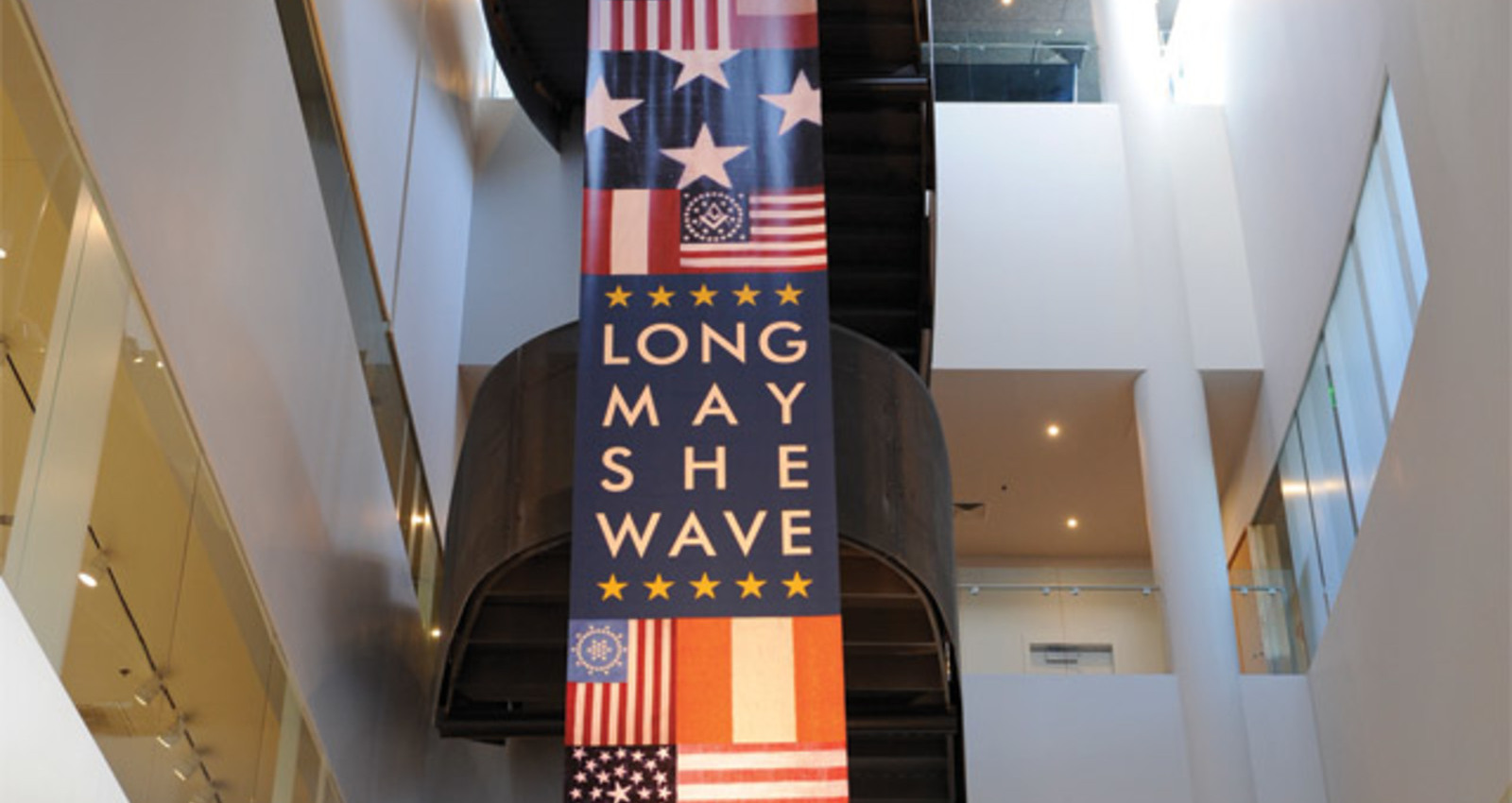 Long May She Wave
