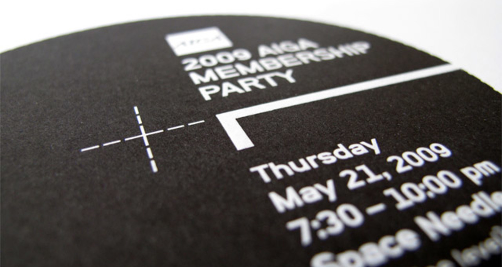 2009 Membership Party Invitation