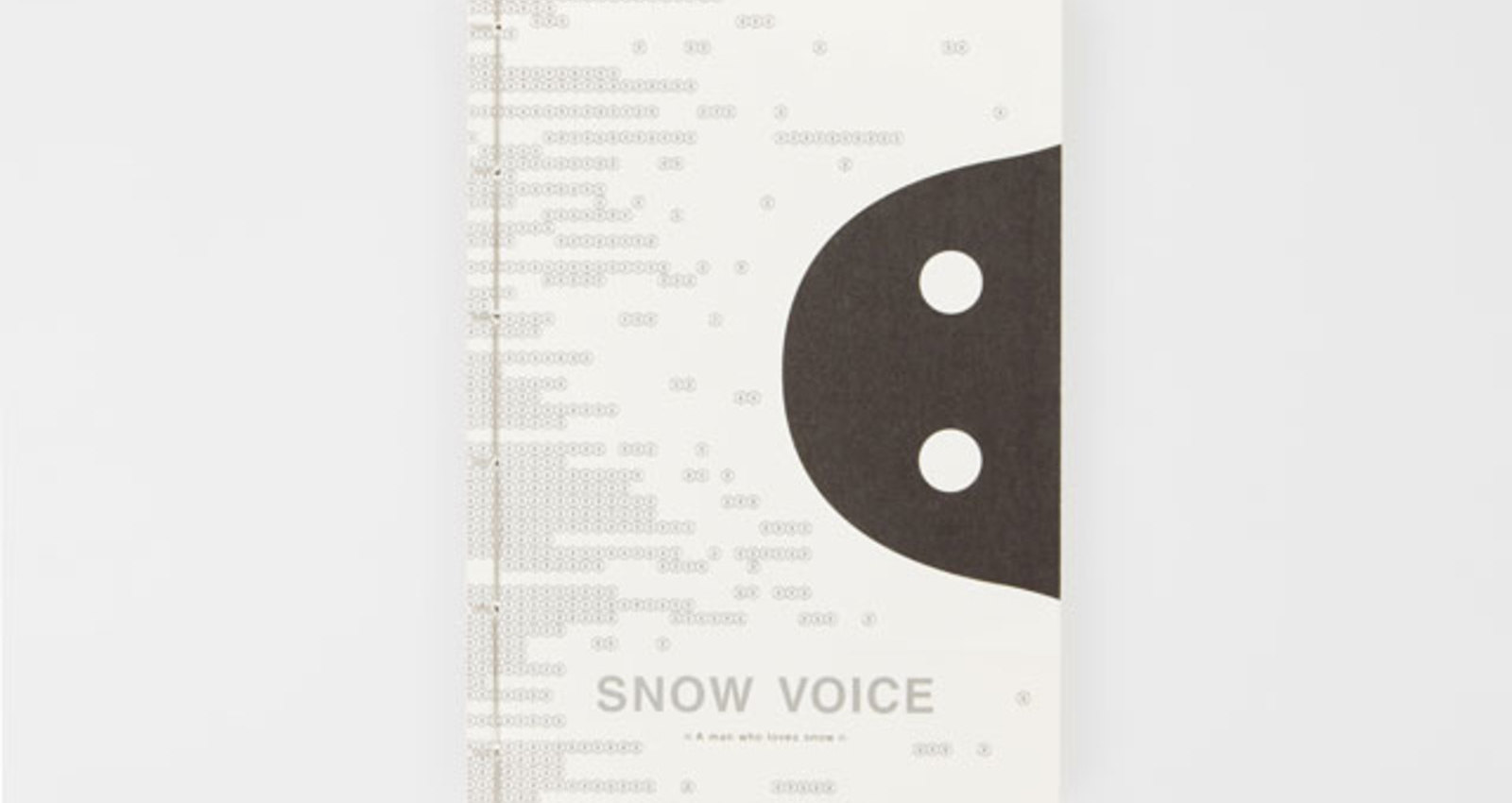 SNOW VOICE - A man who loves snow - Booklet@for Haiku Event