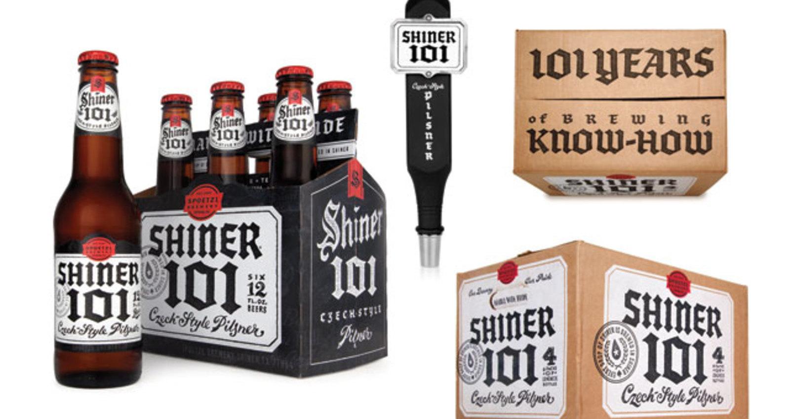 Shiner Beers 101 Packaging