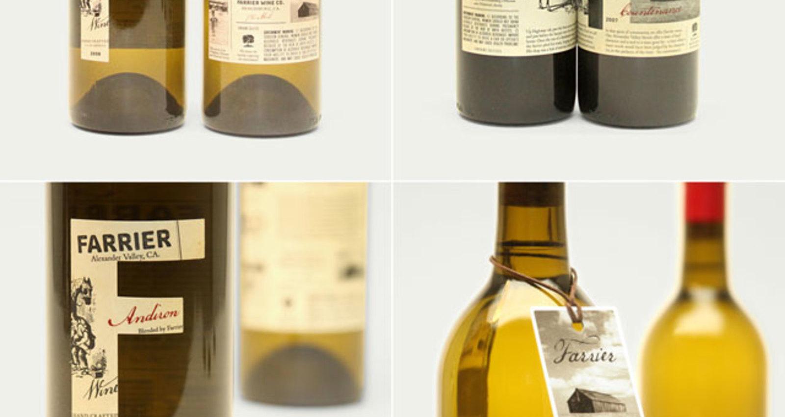 Farrier Wines Packaging