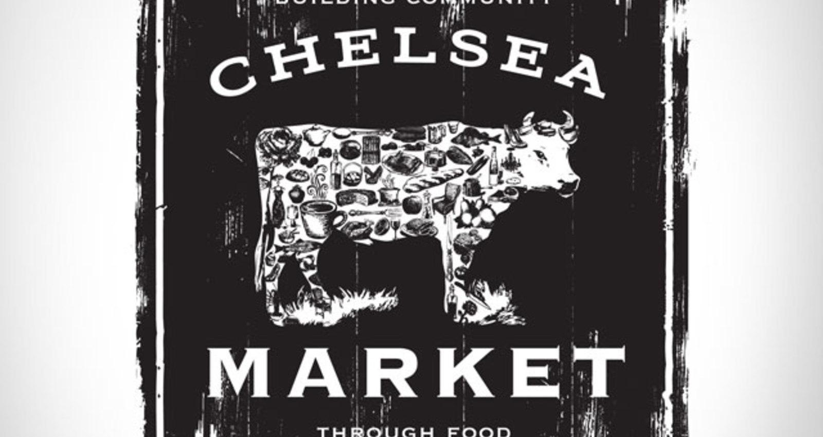 Chelsea Market merchandising logo