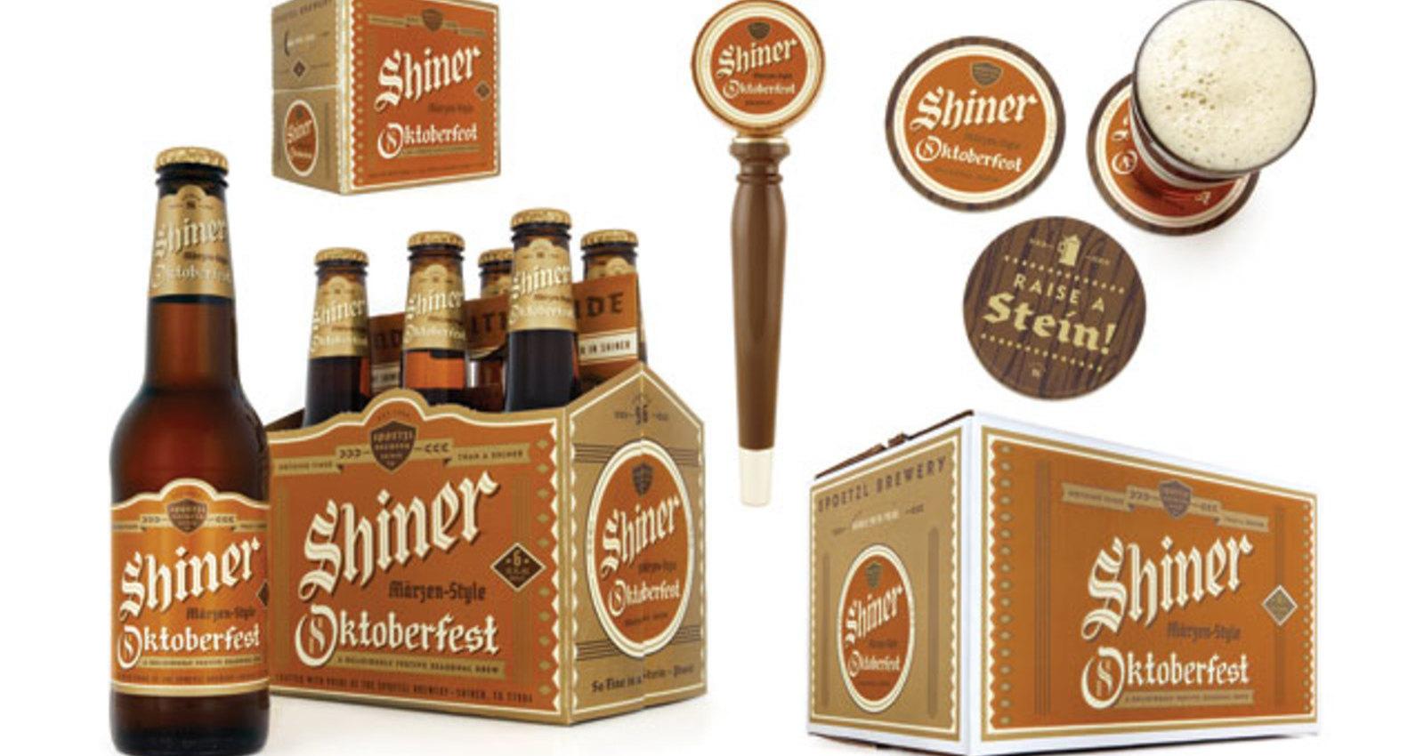 Shiner Beers Oktoberfest Packaging