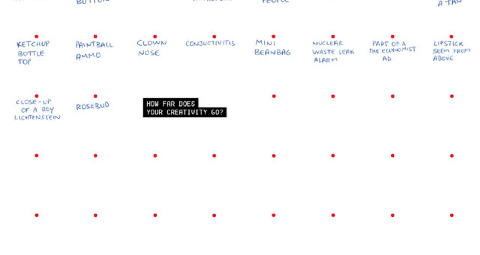 How far does your creativity go?