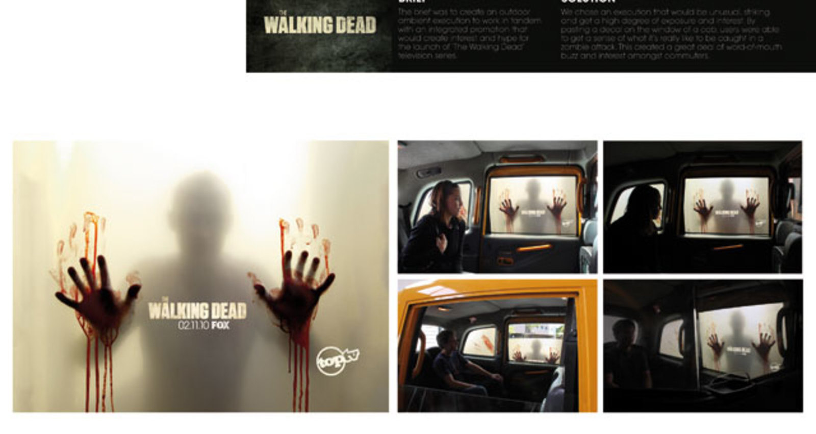The Walking Dead Cab