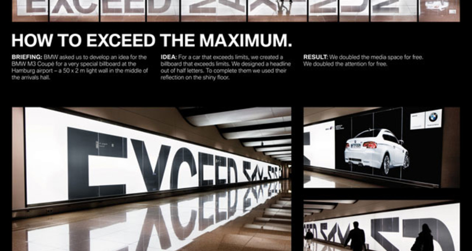 """The BMW Light Wall """"Reflection"""""""
