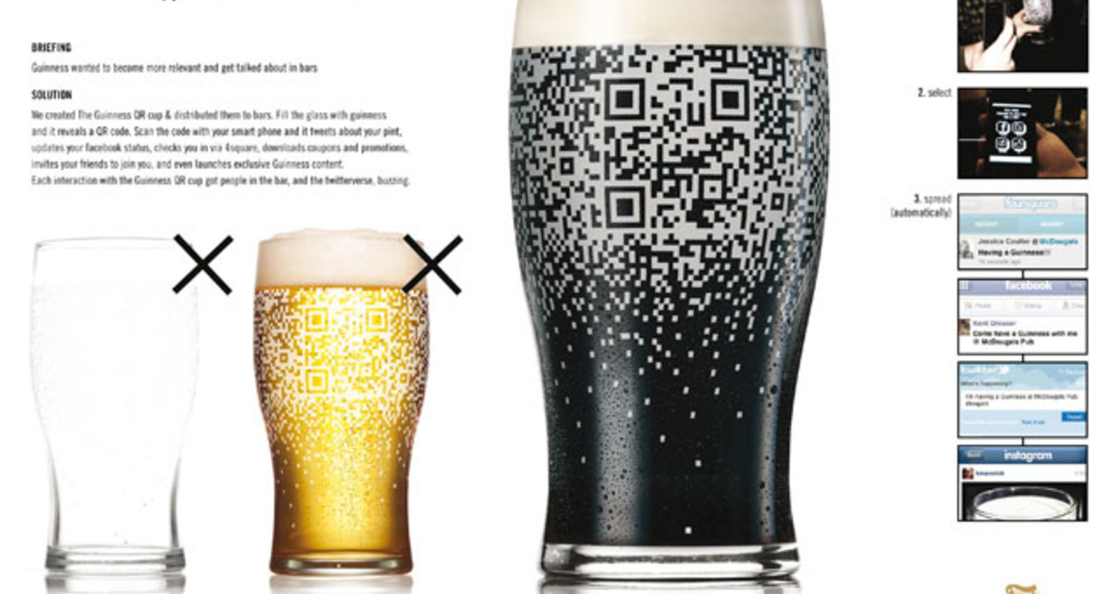 The Guinness QR Cup